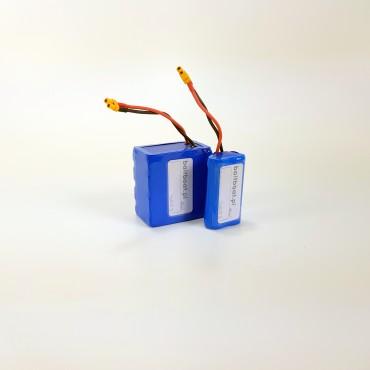 Zasilanie echosondy - pakiet akumulatorów Li-Ion 11,1V