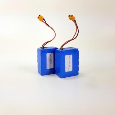 Zapasowy pakiet akumulatorów Li-Ion 7,4V 13Ah (RAZEM 26Ah!)